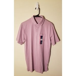 George Men's Solid Jersey Pocket Polo